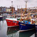 Rainy Day at Arbroath Harbour