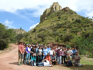 Field trip to understand grazing rotation and grassland restoration, Aguascalientes Mexico