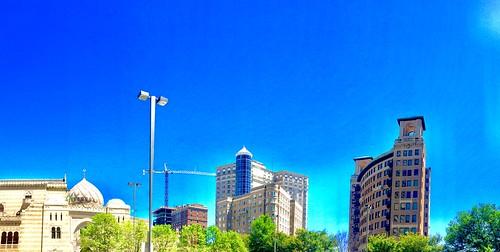 building architecture cityarchitecture bluesky sunshine cityskyline citylandscape georgia atlanta midtown
