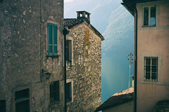 downtown Gandria . Ticino Svizzera