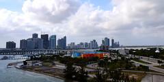 MacArthur Causeway Miami Panorama. Nikon D3100. DSC_0203/0204