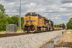 UP 7360 | GE AC45CCTE | NS Memphis District