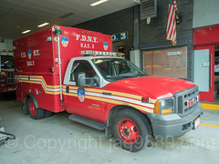 FDNY RAC 3 Recuperation and Care Unit Truck, Bathgate, New York City