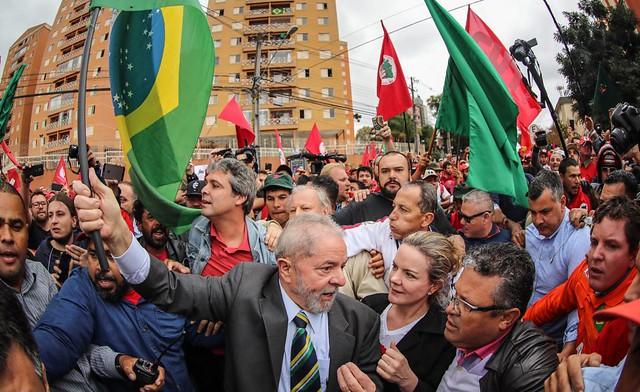 Discurso na íntegra do ex-presidente Lula no Ato pela Democracia nesta quarta (10)