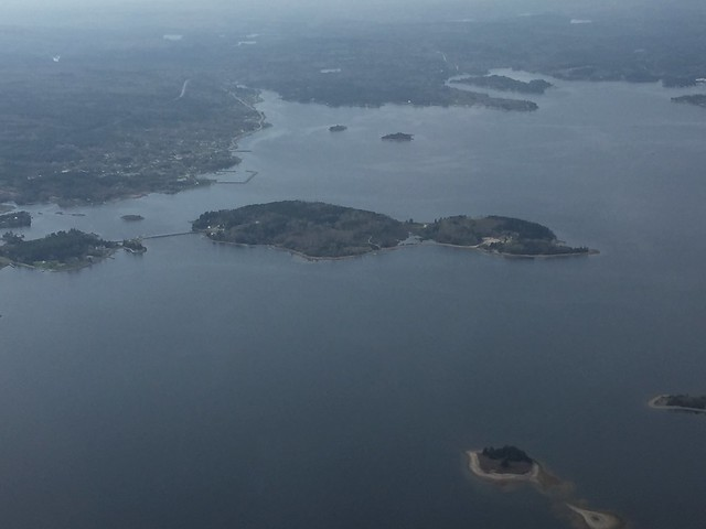 "Oak Island in Mahone Bay southwest of Halifax, Nova Scotia…for you ""Curse of Oak Island"" fans.  Photo Credit: USFWS"