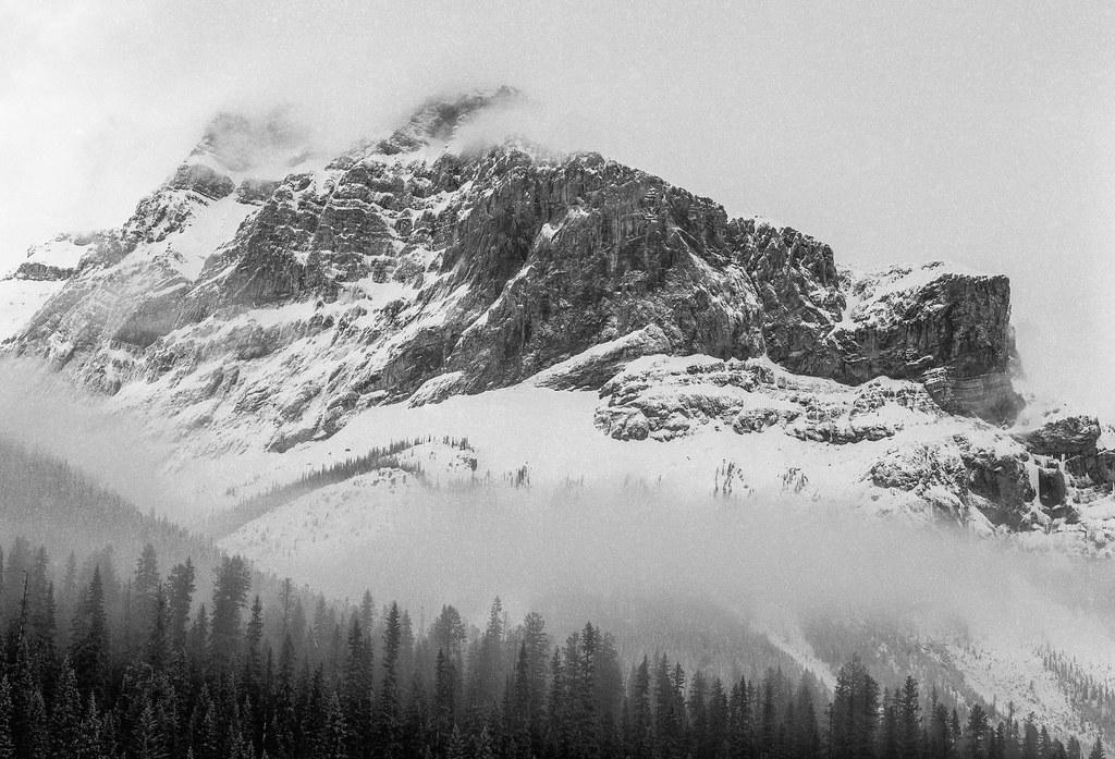 Fog mountain,