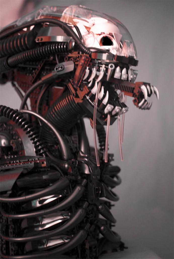 樂高化身為宇宙最駭人的怪物!!超狂「異形」樂高半身胸像!!Alien Xenomorph Bust