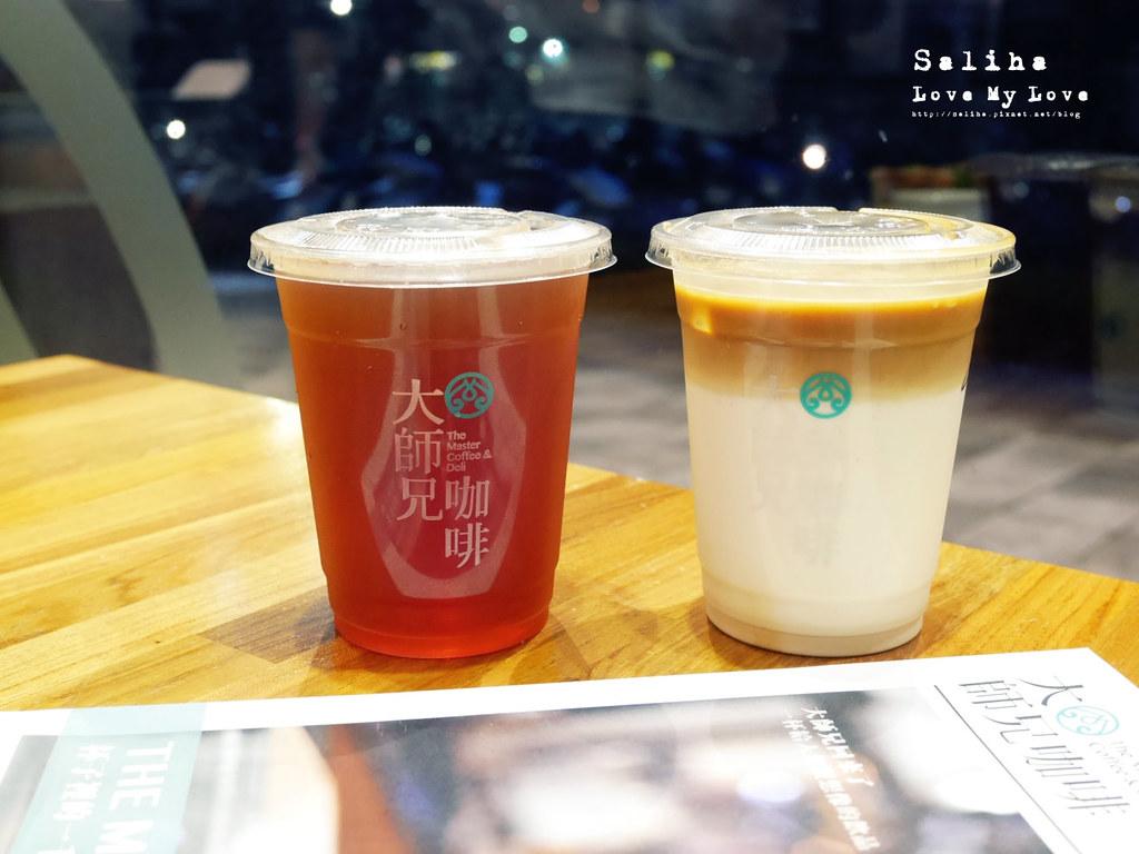 台北松山南京三民站附近餐廳推薦大師兄咖啡早午餐好吃麵 (17)