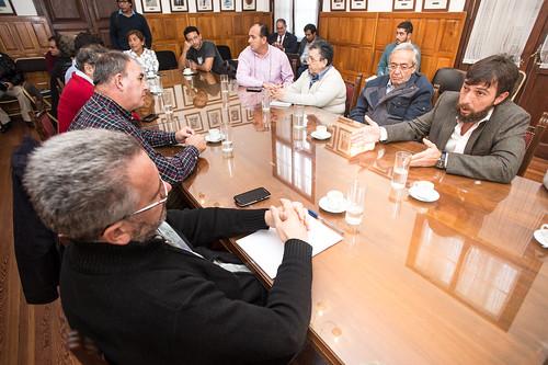 Reunión con el Ministro Eduardo Costello