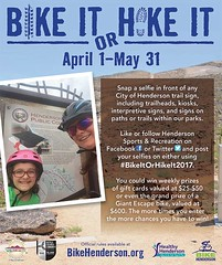 Bike it, Hike It 04.2017