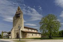 Sud-Gironde: Eglise de Lucmau