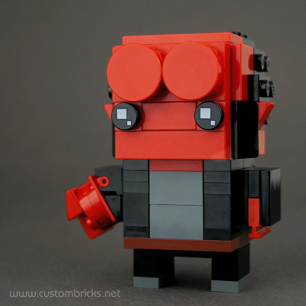 The Right Hand of Doom (custom built Lego model)