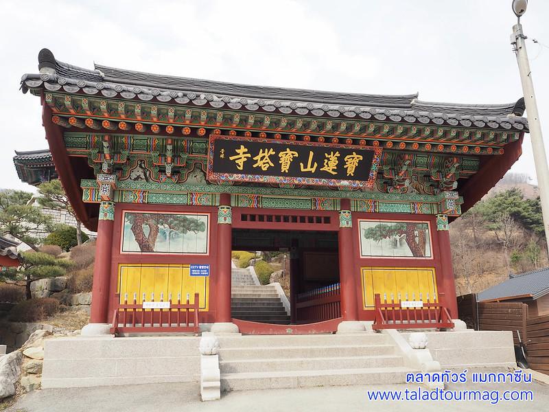วัดโพทับซา เมืองจินชอน เกาหลีใต้