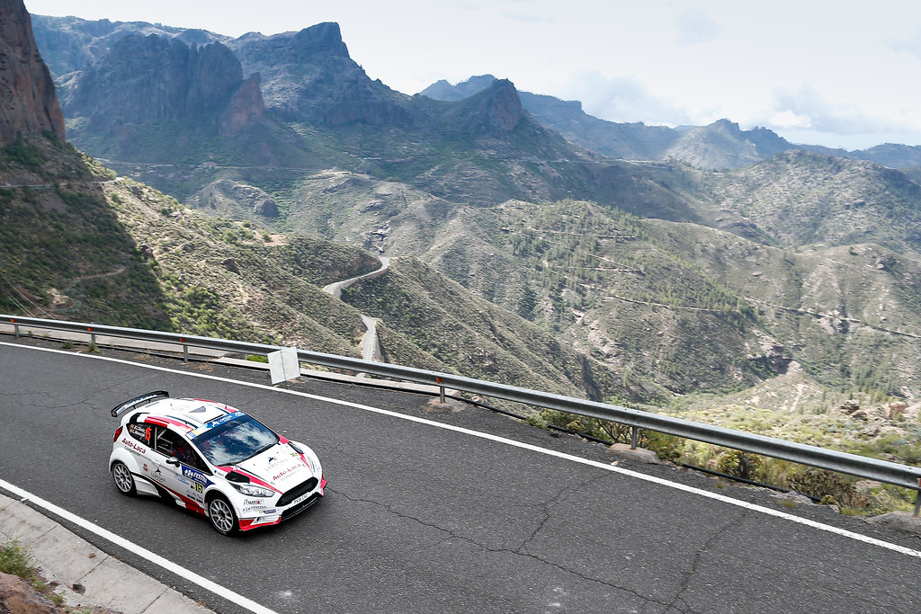 15 MONZON ARTILES Luis Felipe (ESP), DENIZ HOLTMMAN Jose Carlos (ESP), Ford Fiesta R5, Action during the 2017 European Rally Championship ERC Rally Islas Canarias, El Corte Inglés,  from May 4 to 6, at Las Palmas, Spain - Photo Alexandre Guillaumot / DPPI