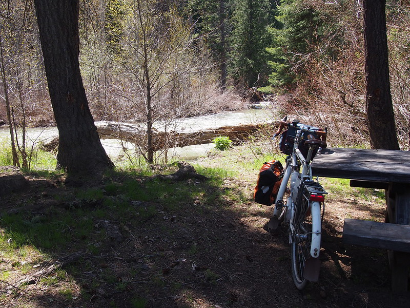 Ivory Pass: While riding back along Middle Fork Teanaway Road, we saw the Indian Campground and liked it a lot.