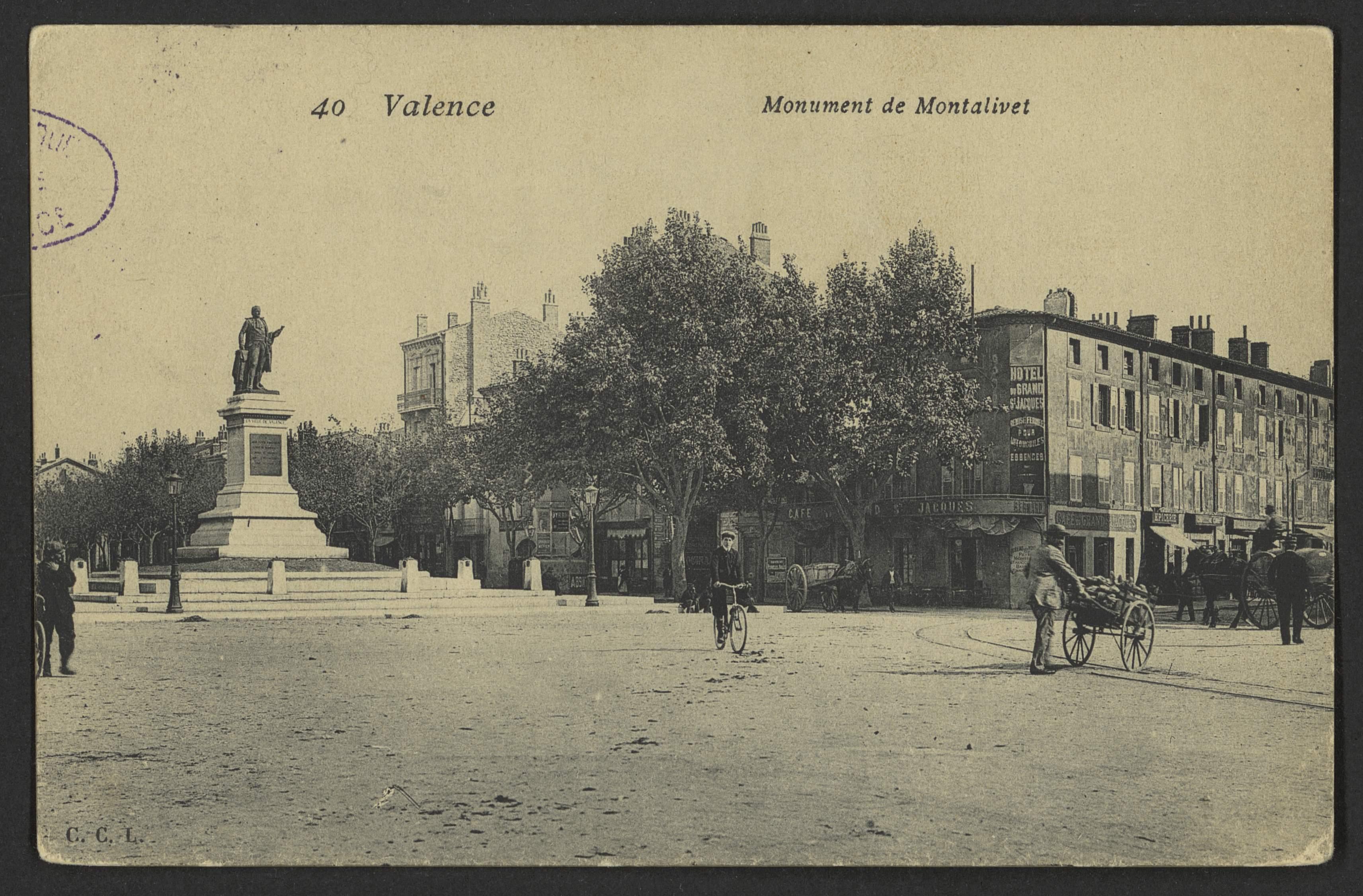 Valence - Monument de Montalivet