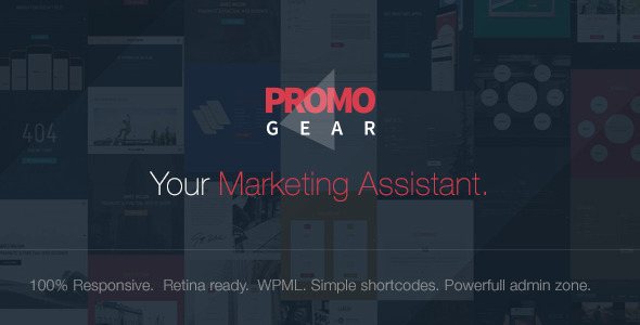 PromoGear v1.0.6 - Creative One Page Multipurpose Theme