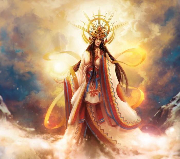 amaterasu - legends of kurama