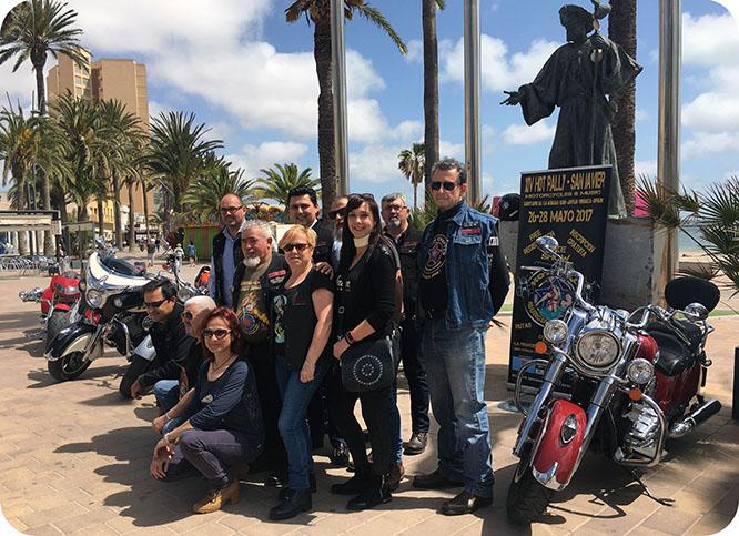 El Hot Rally congrega a más de 3.000 motos en San Javier
