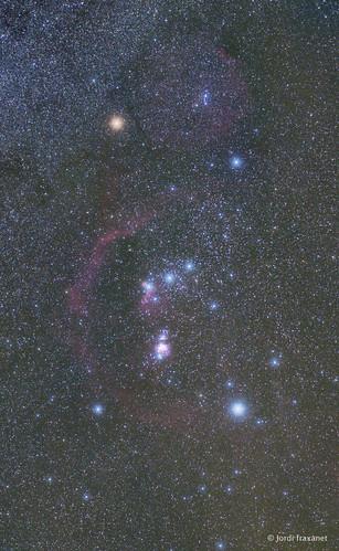 Detall constel.lació Orió