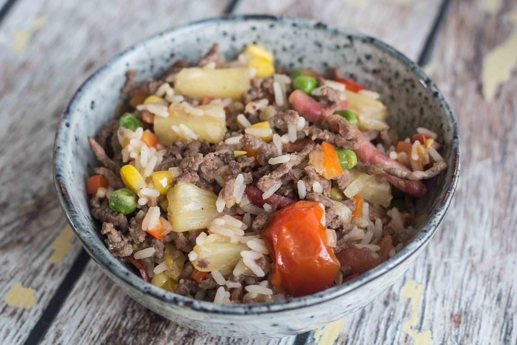 Risret med oksekød og ananas (16)
