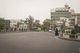 Early morning in Tehran