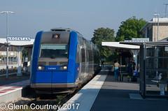 SNCF Alstom DMU 72550 at Argentan