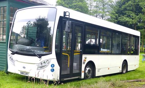 SN65 OFC 'G & J Holmes' (Clay Cross) Alexander Dennis Ltd. E20D / Alexander Dennis Ltd. Enviro 200 on Dennis Basford's 'railsroadsrunways.blogspot.co.uk'