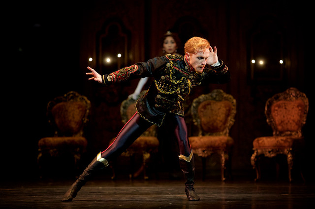 Steven McRae as Crown Prince Rudolf in Mayerling, The Royal Ballet © 2017 ROH. Photograph by Alice Pennefather