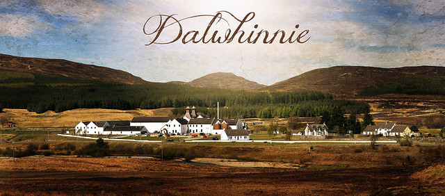 Probably the finest photo of Dalwhinnie distillery ever