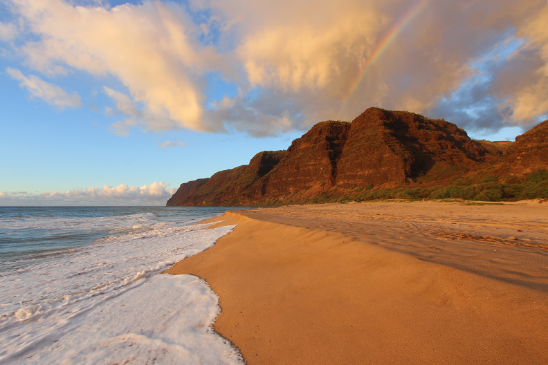 View the Polihale State Park