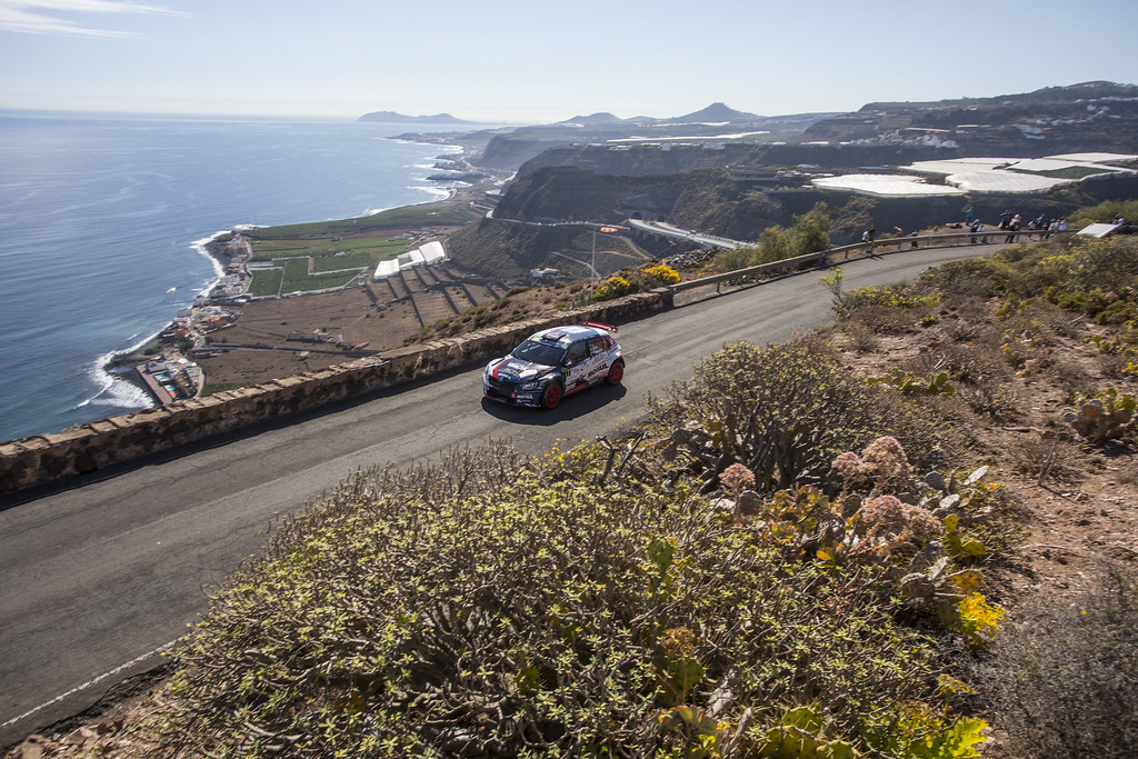 07 CERNY Jan (CZE),  CERNOHORSKY Petr (CZE), Skoda Fabia R5 Action during the 2017 European Rally Championship ERC Rally Islas Canarias, El Corte Inglés,  from May 4 to 6, at Las Palmas, Spain - Photo Gregory Lenormand / DPPI