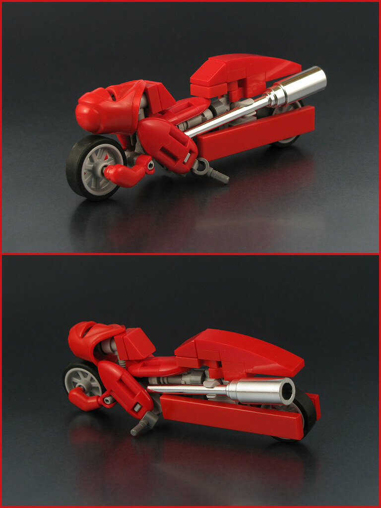 Retro Bonneville Streamliner (custom built Lego model)