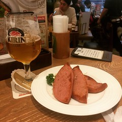 In ginza at Kirin city, love their sausage plates!