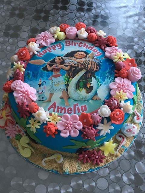 Moana Cake by Andreea Broscoi