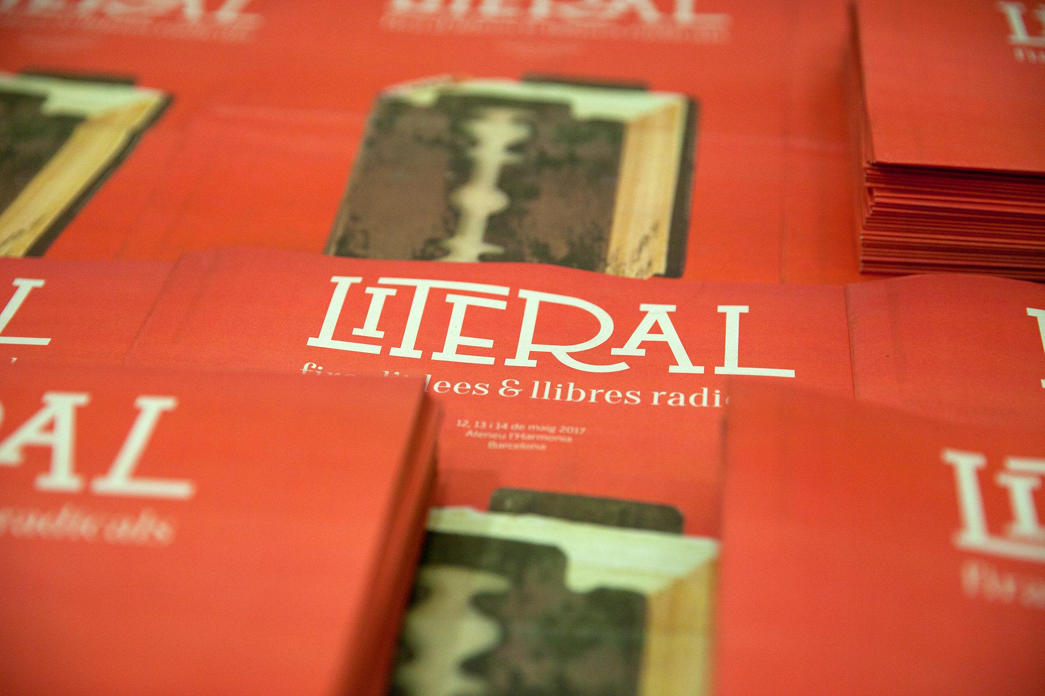 Conferència inaugural de la fira Literal 2017