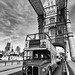 Routemaster crossing Tower Bridge by MKHardyPhotography