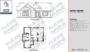 Plan de maison 1 étage - MM1e.13