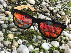 The Lava Glow Wayfarer by Psycho Panda...5.17.17 :palm_tree::panda_face::registered::palm_tree: See all colors available front page at PPSTWR.com #ppstwr #streetwear #eyewear #style #fashion #bamboo #swag #polarized #dmv #diy #classic #creativity #wdywt #