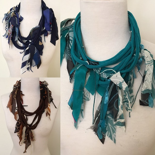 Upcycle Scarves