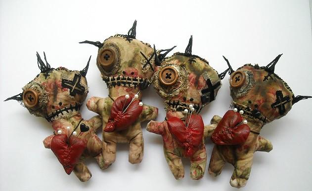 NEW Soiled Sally Voodoo Dolls