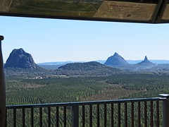 Glasshouse from Wild Horse lookout