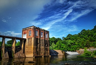 Dam, Duck River, Columbia, Tennessee