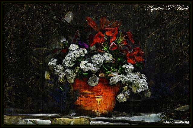 Vaso di fiori... per gli appassionati di pittura - Maggio-2017