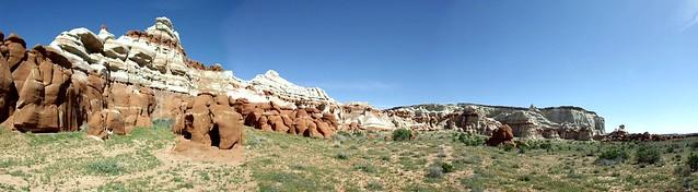 blue canyon panorama, Fujifilm FinePix S3300