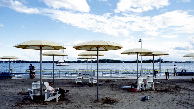 The Yellow Umbrellas of Harbourfront