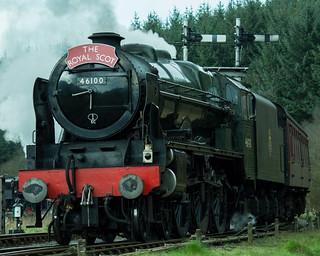 20170330-53b_The Royal Scot Engine 46100 Leaving Levisham Station