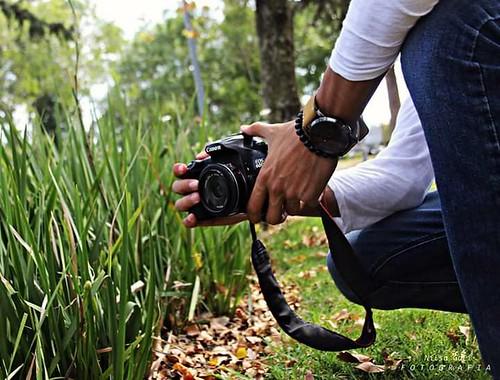 Lo mejor para combatir la nada...Hacer fotografía