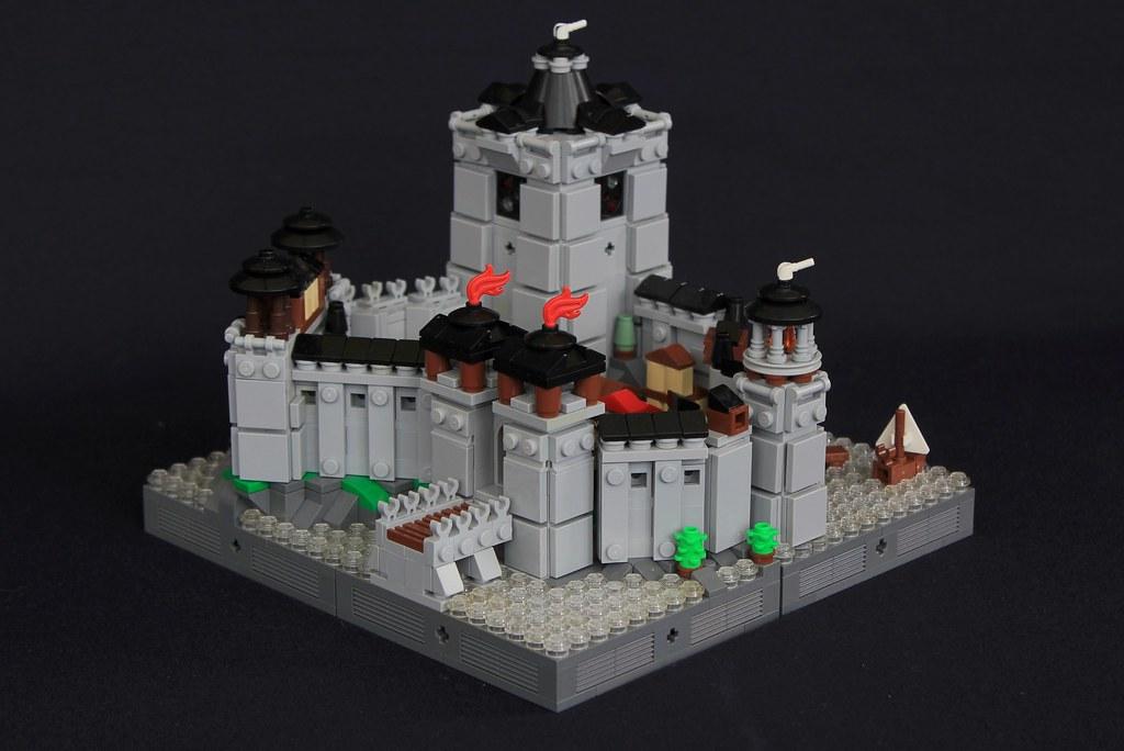 Summer Joust Prize: Faerdham Fortress (custom built Lego model)