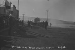 North West Mounted Police garrison, Dawson, Yukon / Garnison de la Police � cheval du Nord-Ouest, Dawson (Yukon)